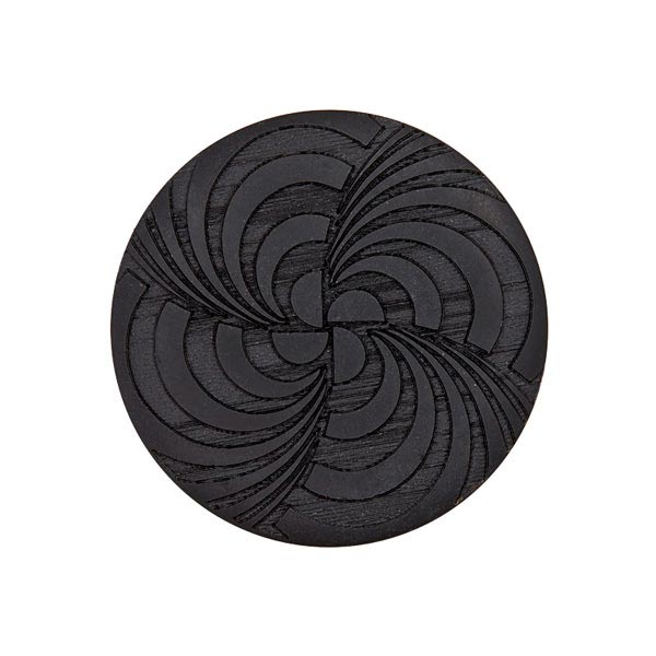 Blazerknopf – schwarz