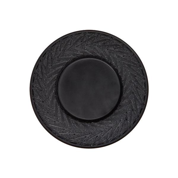 Jackenknopf – schwarz
