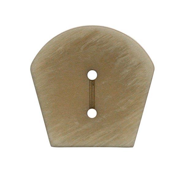 Polyesterknopf Strick 10 – grau