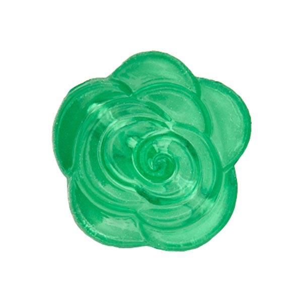 Blusenknopf Blume – grün