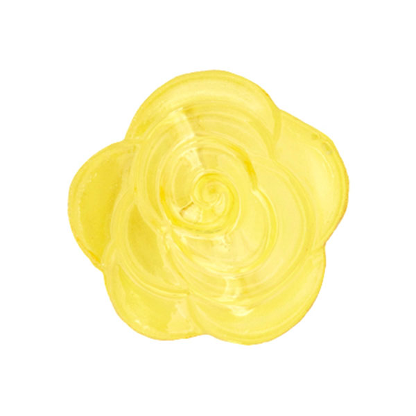 Blusenknopf Blume – hellgelb
