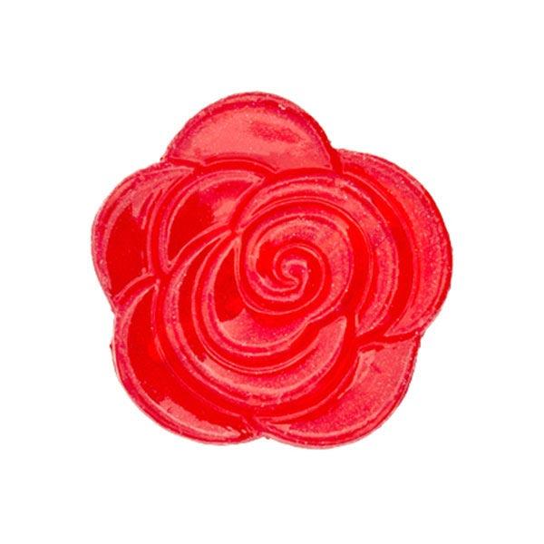 Blusenknopf Blume – rot