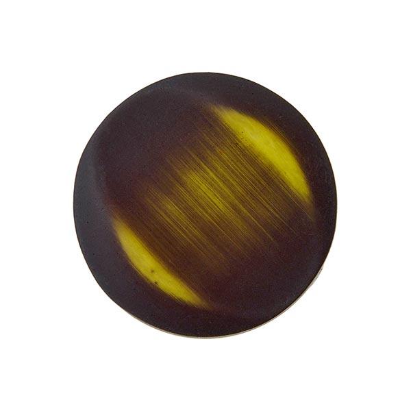 Polyesterknopf - FAKE SAMT - oliv