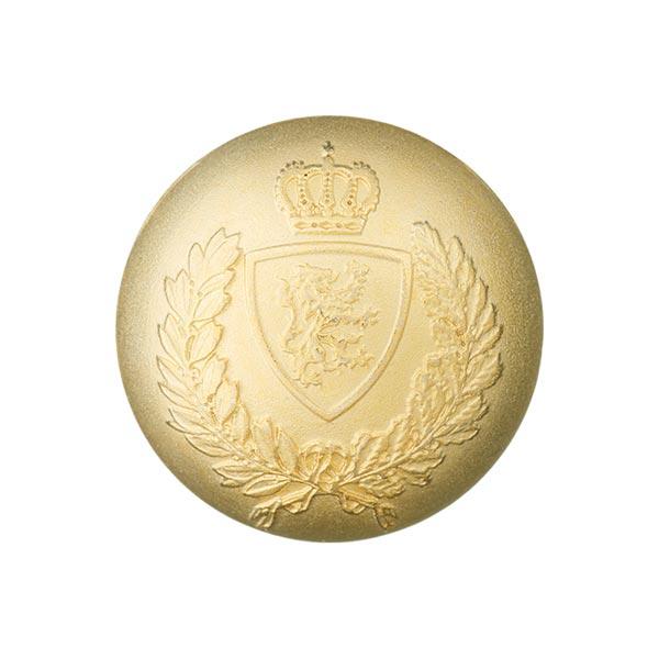 Metallknopf Wappen - gold