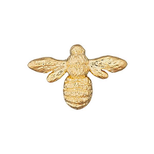 Botón de poliéster Abeja metálica - dorado - Botones de oro- telas.es