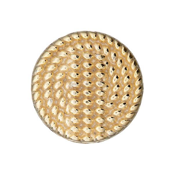 Goldener Metallknopf