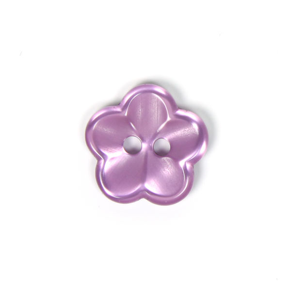 Kunststoffknopf, Brilliant Flower 60