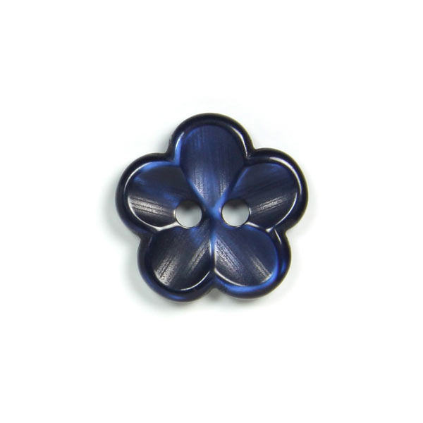 Kunststoffknopf, Brilliant Flower 68