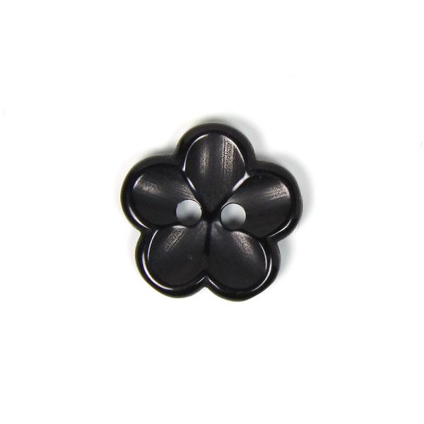 Kunststoffknopf, Brilliant Flower 80