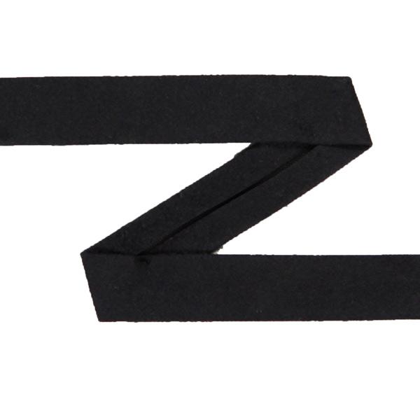 Falzband – Wildlederimitat 4 – schwarz
