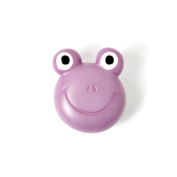 Fliederfarbener Froschknopf