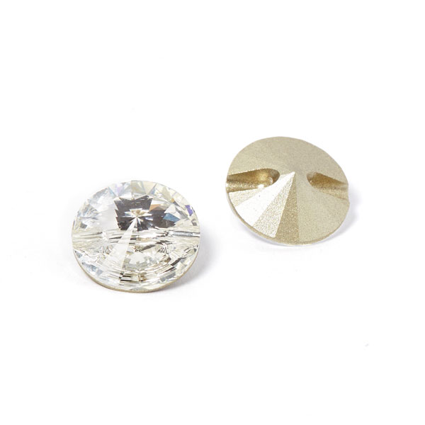 Glass button swarovski crystal white buttonsfavorable - Swarovski crystal buttons ...