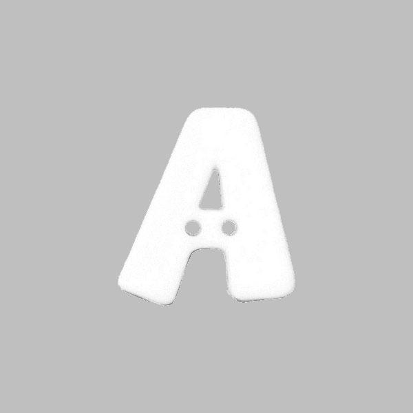 Buchstabenknopf 'A'