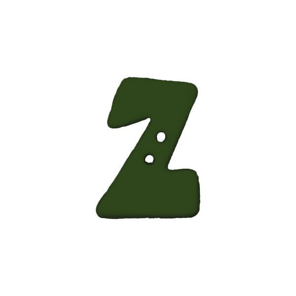 Buchstabenknopf, Z
