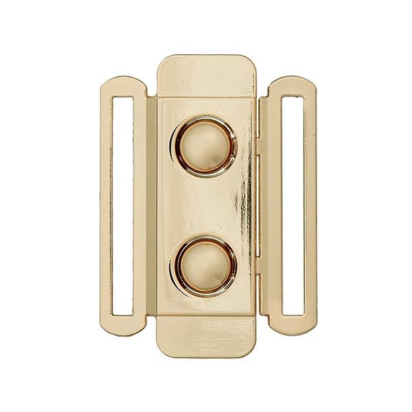 6666e8ce70a4 Boucle pour ceinture élastique  40 mm  - doré - Boucles- tissus.net