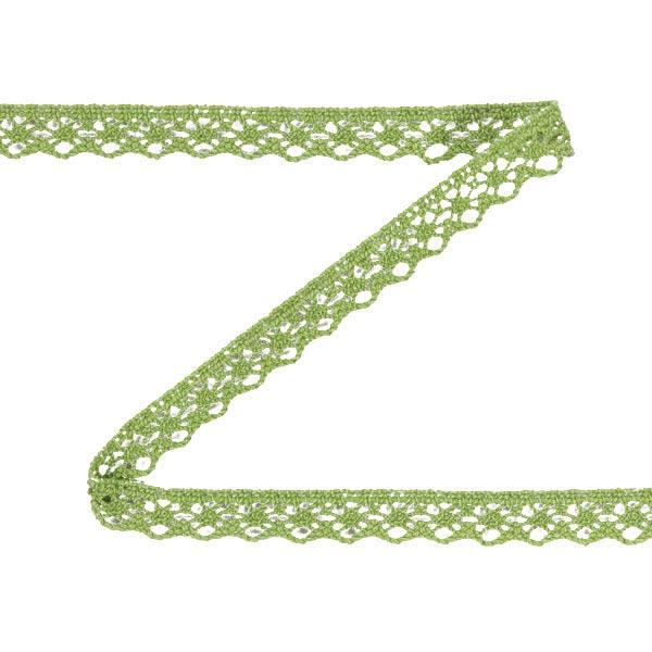 Klöppelspitze (13 mm) 8 – grün