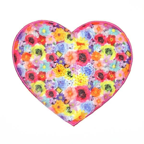 Applikation – Flower Heart