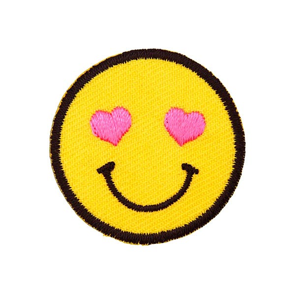 Patches Smiley verliebt