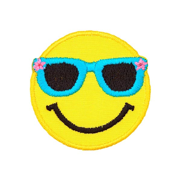 Applikation Smiley Sonnenbrille