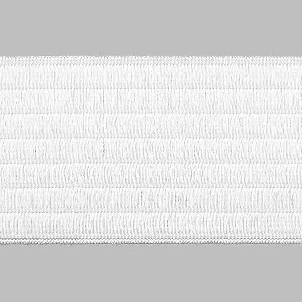 Gürtelband, elastisch - weiss