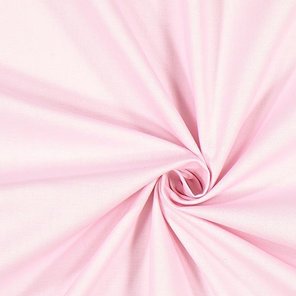 Roséfarbener Baumwollstoff Cretonne 'Pure Colours'