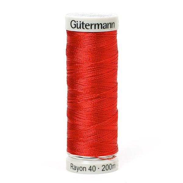Rayon 40   200 m   Gütermann (1147) - rot
