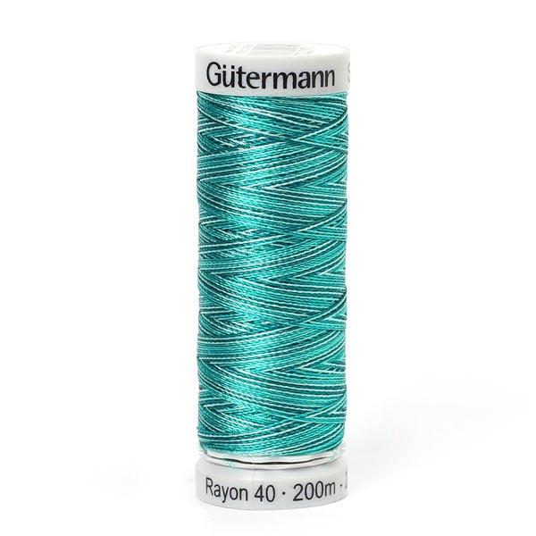 Rayon 40   200 m   Gütermann (2132) - Farbmix