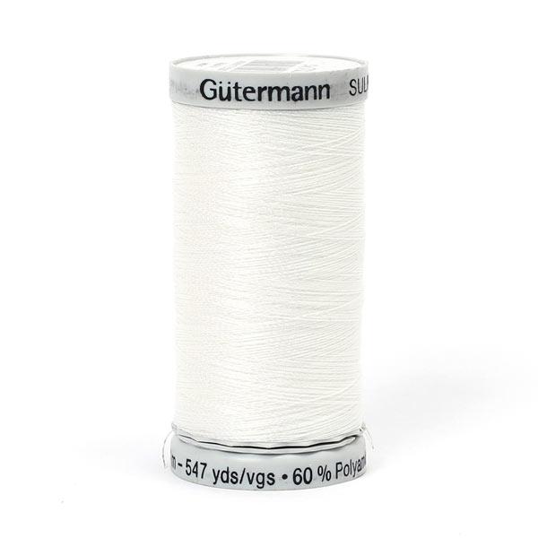 Metallic, 500 m | Gütermann (7021) - weiss