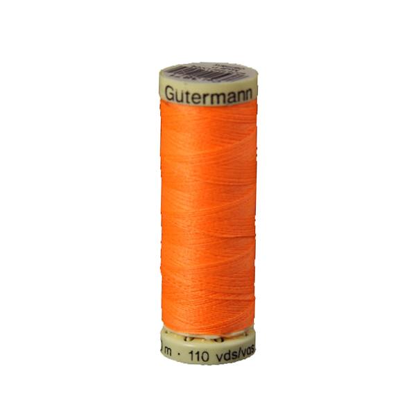 Gütermann Allesnäher neon (3871), 100 m - orange