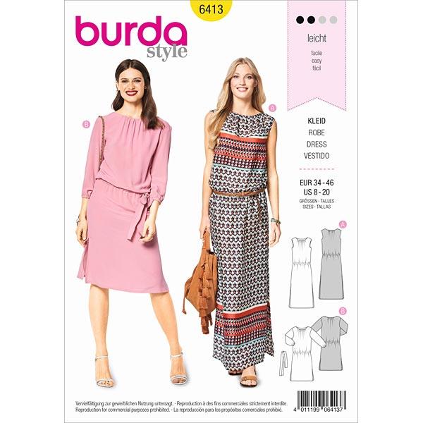 Dress Burda 6413 34 46 Sewing Patternsfavorable Ing At Our