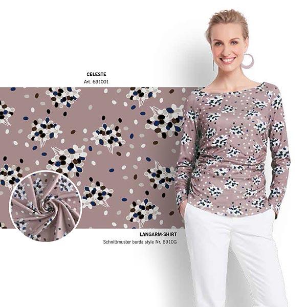 Shirt Raglan Sleeves Burda Gütermann 6910 34 46 Plus Size Sewing Patternsfavorable Ing At Our