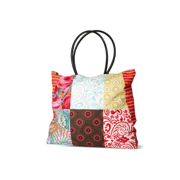 sacs cabas shopper patchwork burda 6962 patrons de couture accessoires. Black Bedroom Furniture Sets. Home Design Ideas