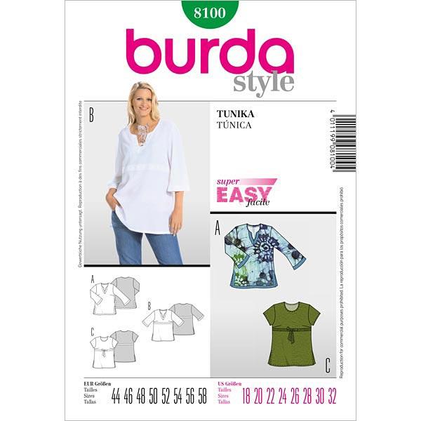 Tunika, Burda 8100