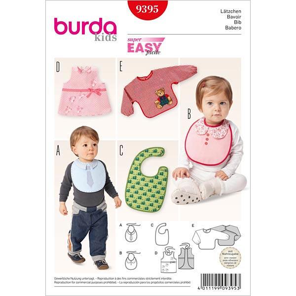 Lätzchen, Burda 9395 - Schnittmuster Baby & Kind Accessoires- stoffe.de