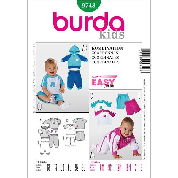 Kombination, Burda 9748