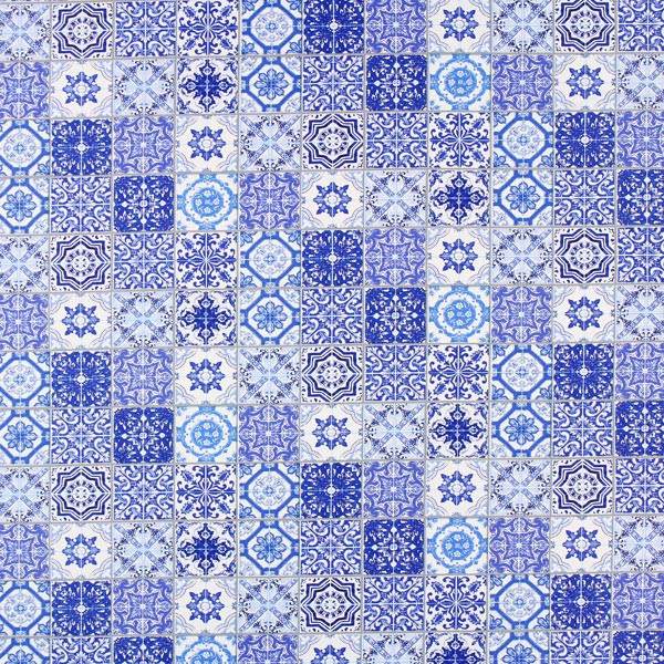 Ornaments Home Decor Fabric Royal Blue Cushion