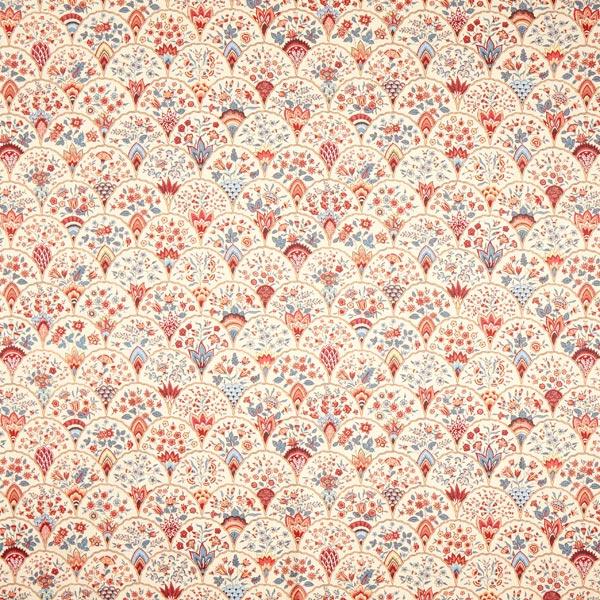 Dekostoff mit floralem Muster