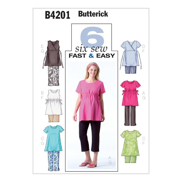 Umstandskleidung, Butterick 4201 | 40 - 44 - Schnittmuster ...