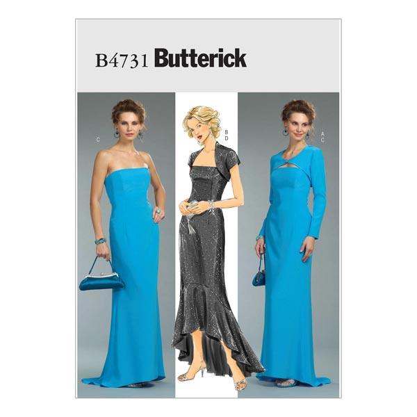 Kleid, Butterick 4731 | 40 - 46 - Schnittmuster Kleid- stoffe.de