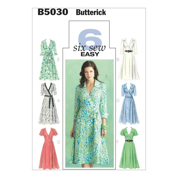 Kleid, Butterick 5030 | 34 - 40 - Schnittmuster Kleid- stoffe.de