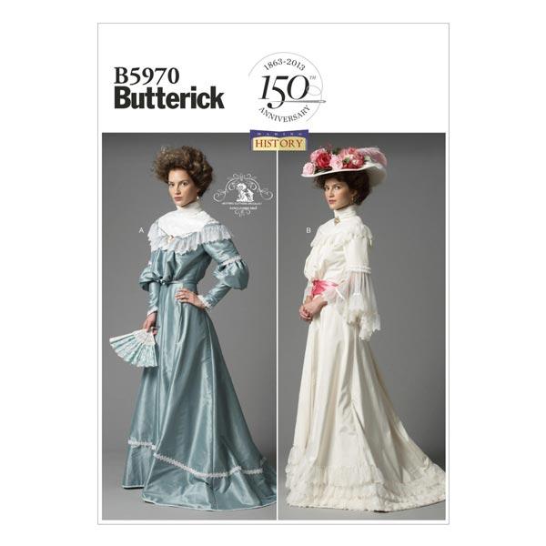 Historisches Kostüm, Butterick 5970 | 42 - 50 - Schnittmuster ...