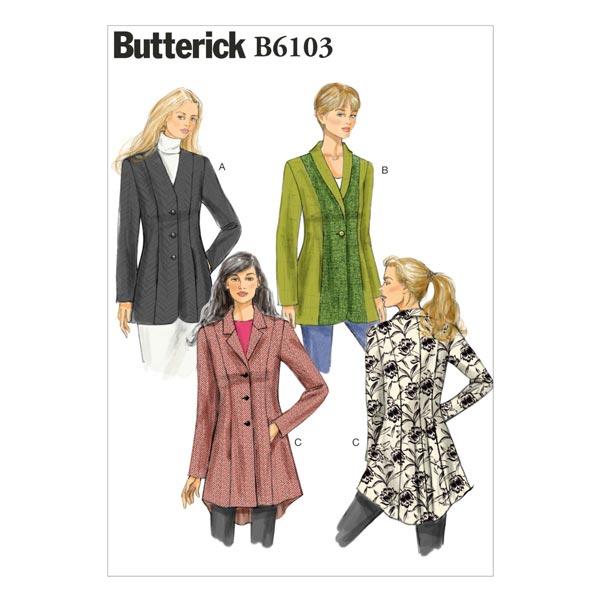Jacke, BUTTERICK B6103