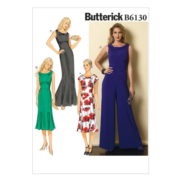 Kleid, Butterick 6130 | 40 - 48