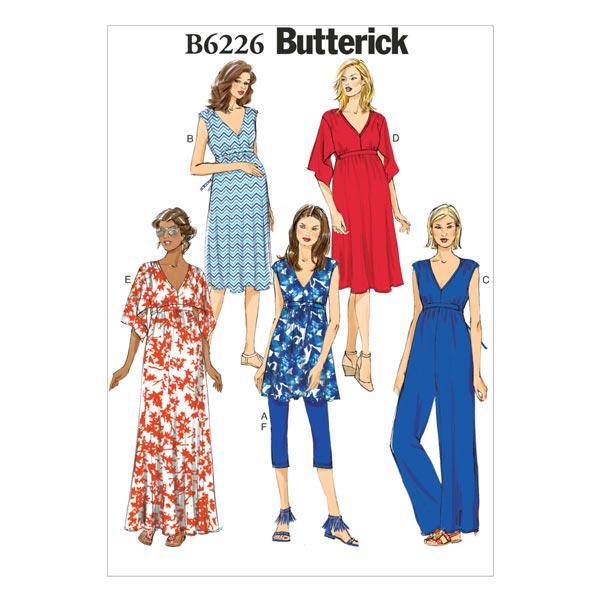 Umstandskleidung, Butterick 6226 | 40 - 48 - Schnittmuster ...