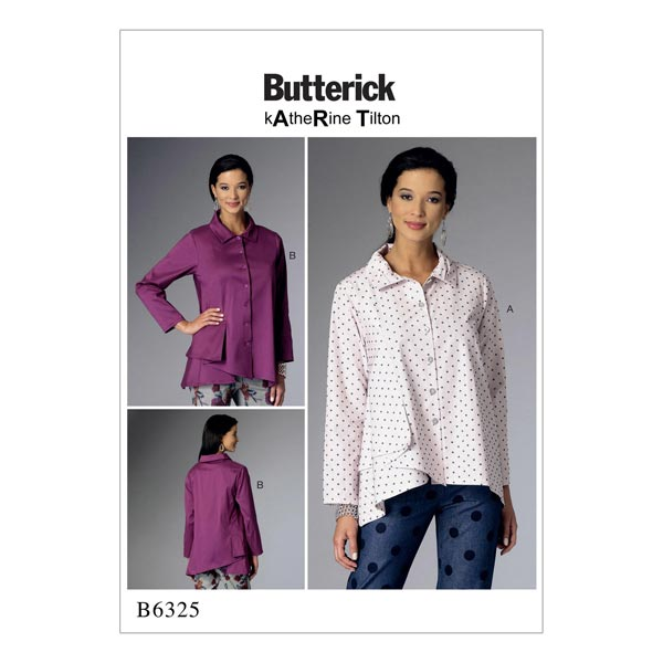 Top / Bluse, Butterick 6325 | 42 - 50