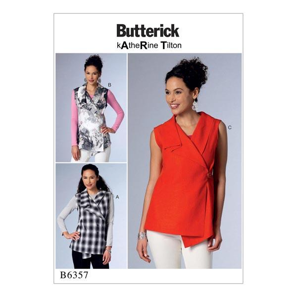Top, Butterick 6357   30 - 40