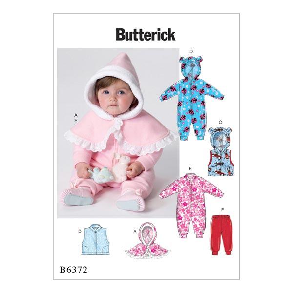 Baby/Weste/Hose, Butterick 6372 | 71 - 102 - Schnittmuster Baby ...