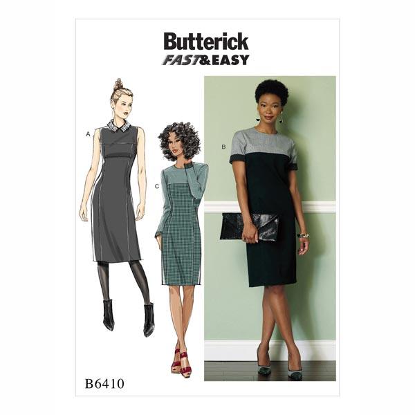 Kleid, Butterick 6410   32 - 40