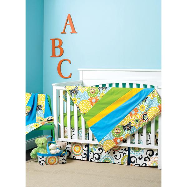 Biancheria da letto bambini copriletto coprimaterasso cesta paracolpi waverly 6499 - Biancheria da letto bambini ...