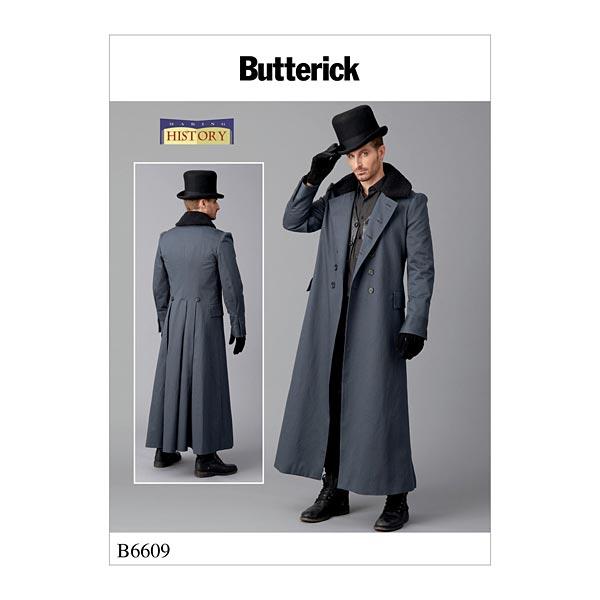 Herren Kostüm by Making History, Butterick 6609 | 48 - 54 ...